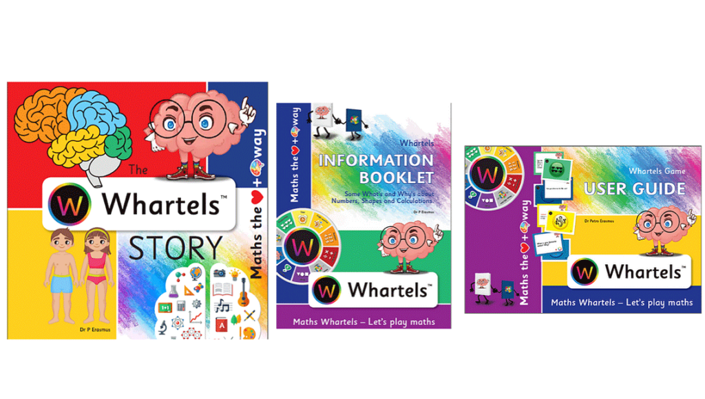 Maths Whartels - Story and User Guides